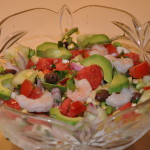 Tomato, Corn and Edamame Salad:   A No-Cook Meal for Hot Summer Nights