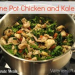 Quick and Easy 15 Minute Chicken with Kale