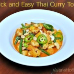 Quick and Easy Thai Curry Tofu