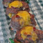 Bacon Cheddar Mini Meatloaves