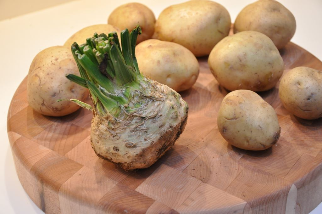 Celery Root is the Secret Ingredient in my mashed potatoes!