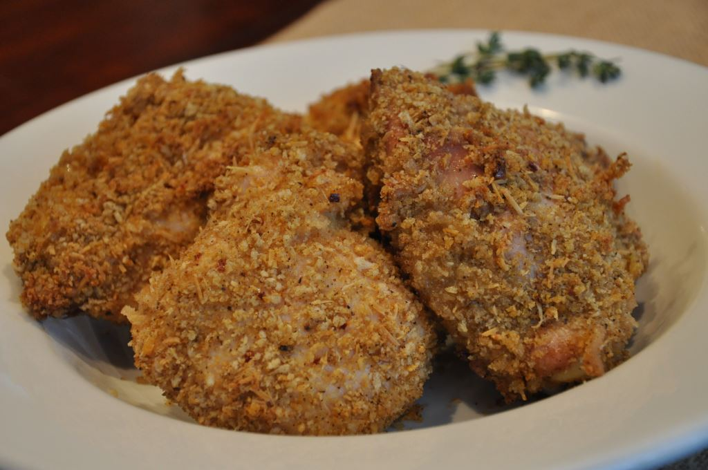 Oven Baked Chicken with Panko