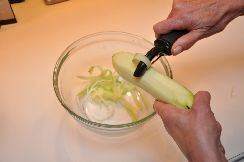 Zucchini Pasta Can be Made with a Vegetable Peeler
