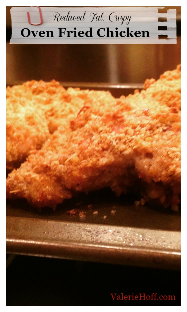 Oven Fried Chicken With Pankovalerie Hoff