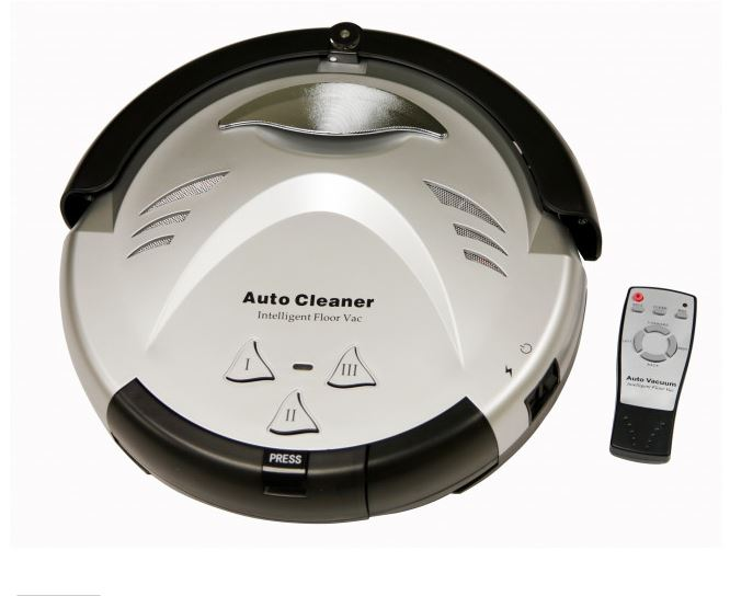itouchless robot vacuum