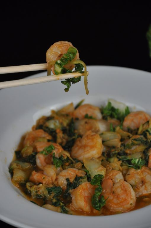A couple of tablespoons of Umami Paste lends a flavorful layer to sauteed shrimp