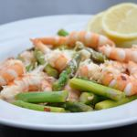 Sauteed Asparagus with Shrimp