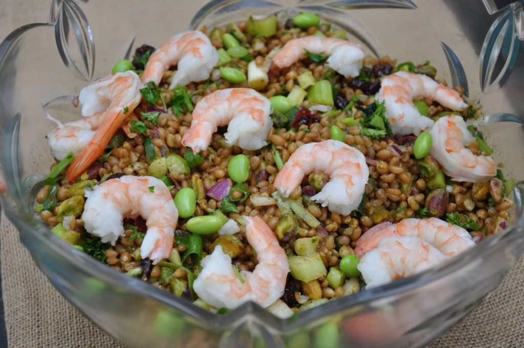 Curried Wheatberry Salad