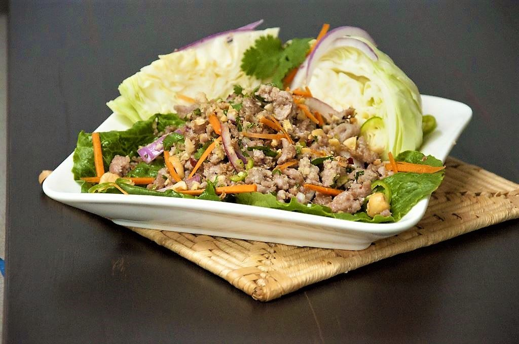 Nam Sod: Thai Pork Salad